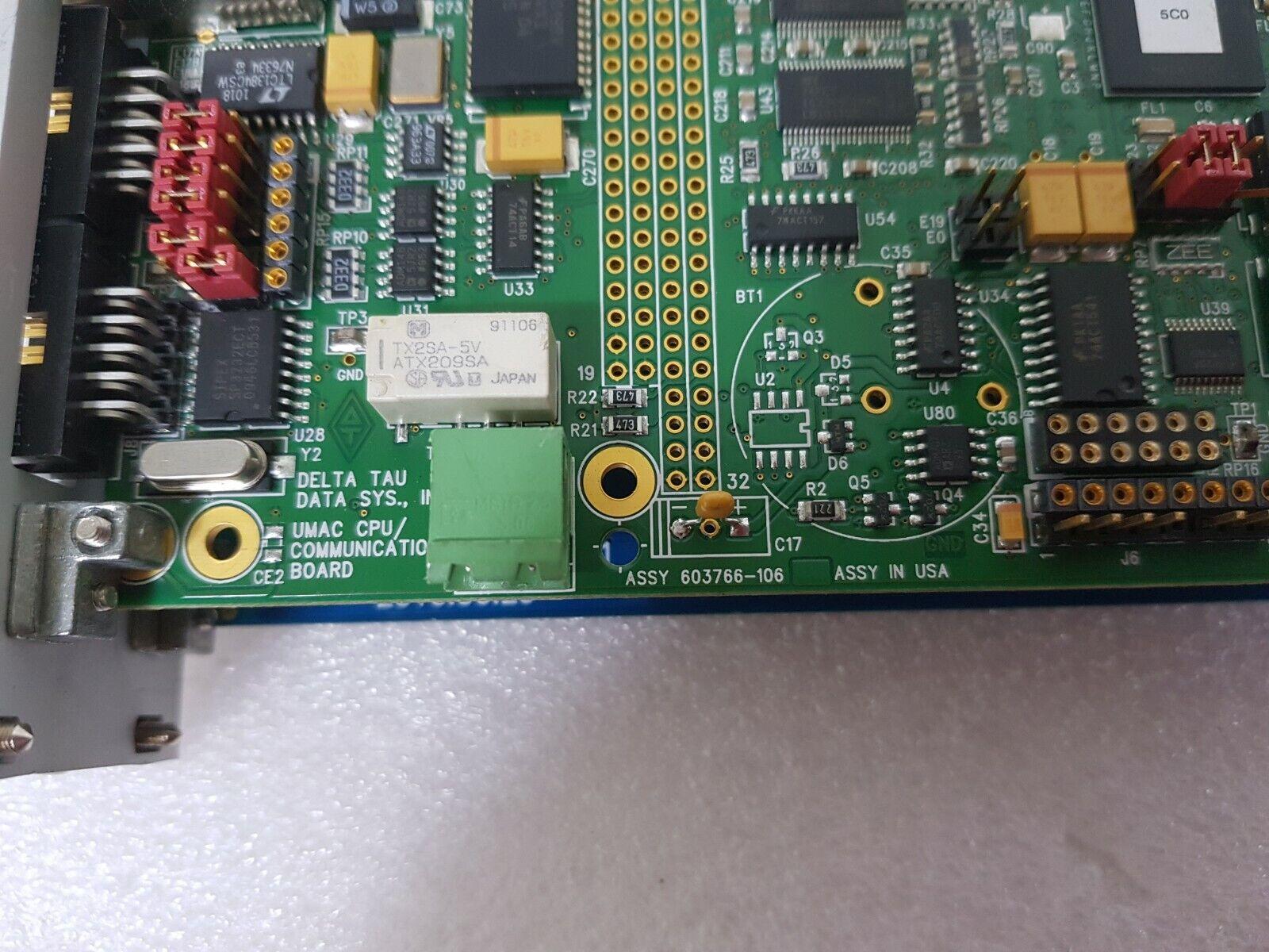 DELTA TAU TURBO PMAC2 CPU 603766-104 603766 104 603766104 Expedited shipping