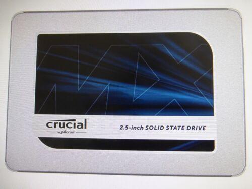 """CT1000MX500SSD1 New Crucial MX500 2.5/"""" 1TB SATA III 3D NAND Internal SSD"""