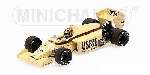 Un fou de Noël remporte une grande grande grande concurrence Arrows Bmw A8 Thierry Boutsen 1986 Minichamps 1:43 400860018   Bon Marché  0deecd