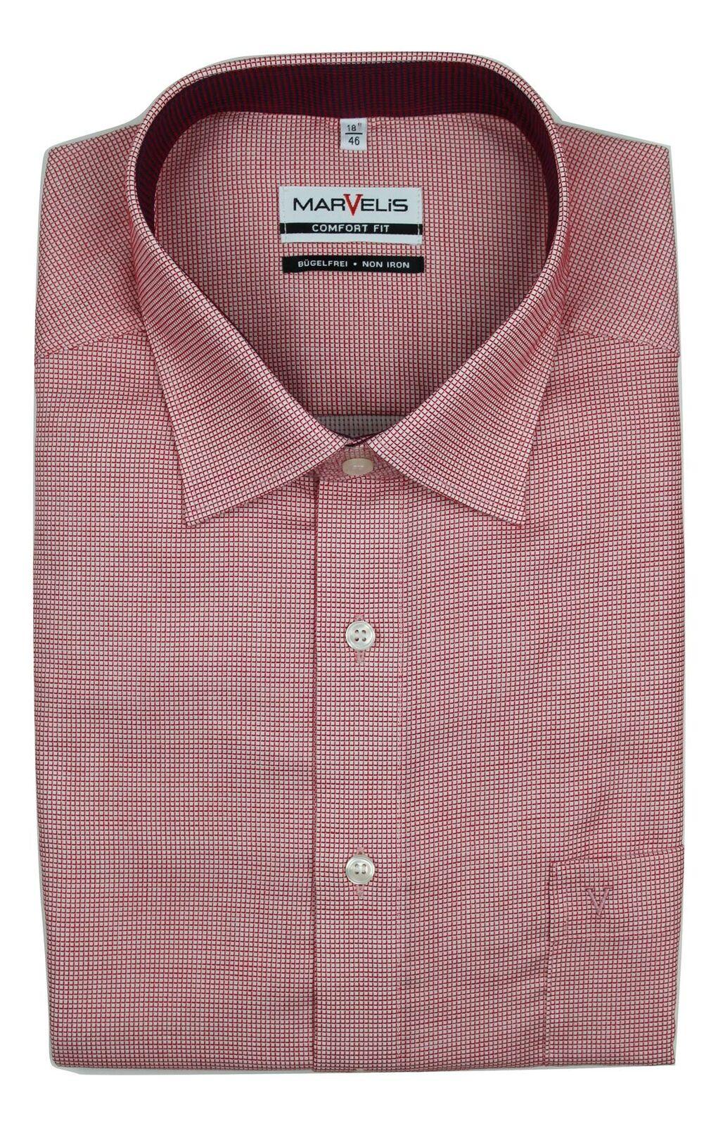 Red Checkered Spread Collar