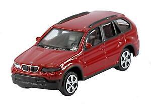 Burago-1-43-Diecast-Modelo-Coche-Burago-039-Street-fuego-Gama-BMW-X5-4x4-en-Rojo
