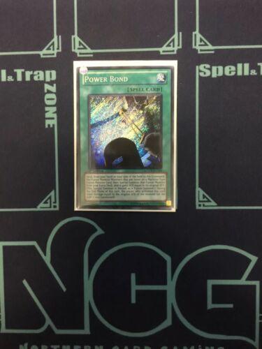 Yugioh-Power Bond-Secret Rare-1st Edition-LCGX EN184