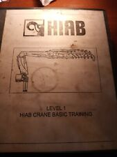 Hiab Crane Basic Training Manual Level 1