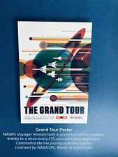 NASA Space Travel Poster Grand Tour of the Solar System 24x36