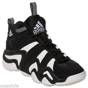fa553d1f7558 New Men s ADIDAS Crazy 8 Retro - G21939 Black White Basketball ...