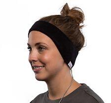 AcousticSheep SleepPhones v.5 Wired Classic Ultra-Comfortable Headband Black