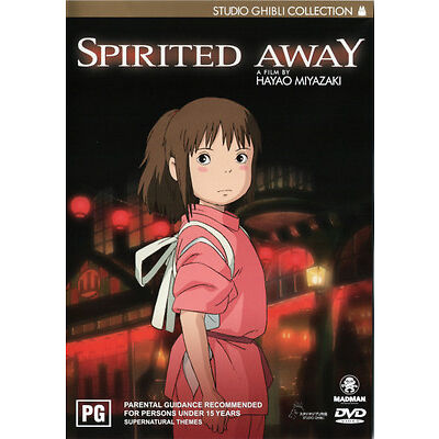 Spirited Away  - DVD - NEW Region 4