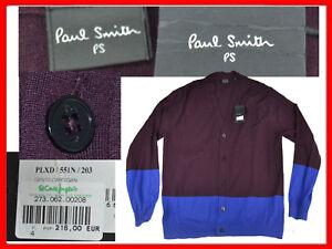 PAUL-SMITH-Cardigan-Hombre-XL-Europa-L-UK-A-PRECIO-DE-SALDO-PS20-T1G