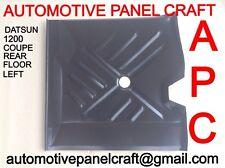 DATSUN 1200 COUPE/SEDAN REAR FLOOR LEFT HAND SIDE rust repair panel/part/fender