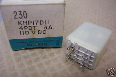 POTTER /& BRUMFIELD KHP17D11  RELAY   NOS CONDITION IN BOX