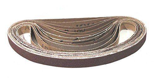 Schleifbänder 13 x 457 mm - Mix Paket Korn 40 - 240 / Schleifband für Powerfeile