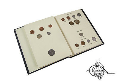 Oman 1975-2011 Coin Album 1978 1980 1984 1985 1989 1991 1995 1997 1999 2008 2010