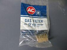 NOS  GM Carburetor Gas Filter GF 455 GM# 5651689 Buick Camaro Pontiac Chevy GMC