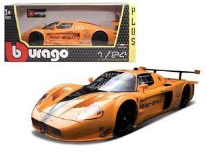 Bburago-1-24-Maserati-MC12-Racing-Car-Vehicle-Diecast-Model-Orange-New-in-Box