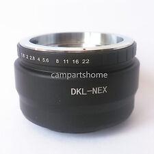 Voigtlander Retina DKL Lens to Sony NEX E NEX7 A6000 NEX5 NEX6 A7 A3000 Adapter