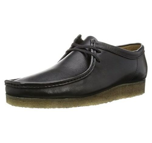 Clarks 10 Premium Lea Black Men G 7 Wallabee 11 Originals 6 9 Uk 6qr4wv61