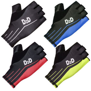 D2D-Second-Skin-Aero-Fingerless-Cycling-Gloves-Black-Red-Blue-and-Fluoro