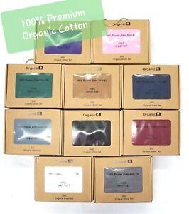 Pure-Organic-100-Premium-Cotton-600-Sheet-Set-16-034-Deep-Pocket-Bedding-Cover