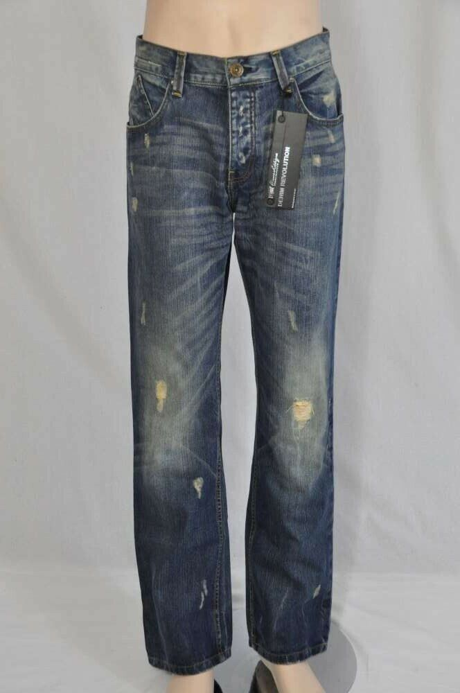 Us Apparel Men's Jeans W32 R bluee Used New