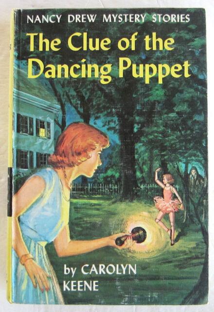 Nancy Drew #39 CLUE OF THE DANCING PUPPET Carolyn Keene PC