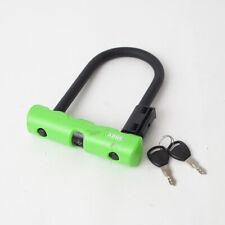 """5.5/"""" Shackle Black ABUS Keyed U-Lock Ultra Mini 410"""