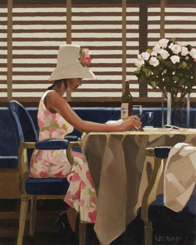 Jack Vettriano greeting card Days of Wine and Roses