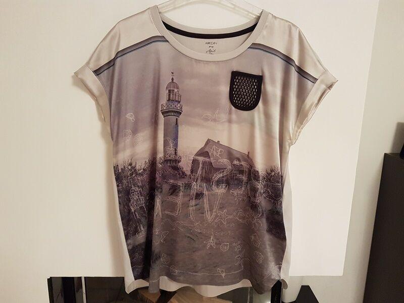 Damen T-shirt von  Marc  Cain Gr.5 NP179,-