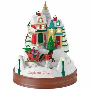 image is loading jingle all the way 2017 hallmark magic ornament - Hallmark Christmas Decorations 2017