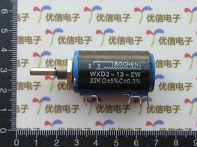 New WXD3-13-2W Multiturn Wirewound Potentiometer Adjustable Resistor