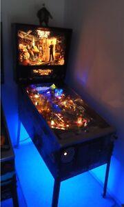 Twilight Zone Pinball Cabinet light mod