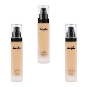 SET 3x Douglas 12H Make-up Teint Fond De Teint SO MU0304 Foundation Cream 25 ml