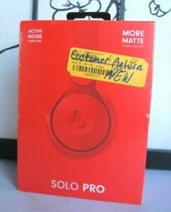 Beats By Dr Dre Solopro Morematte Collection Wireless Noise Canceling Headphones 190198723406 Ebay