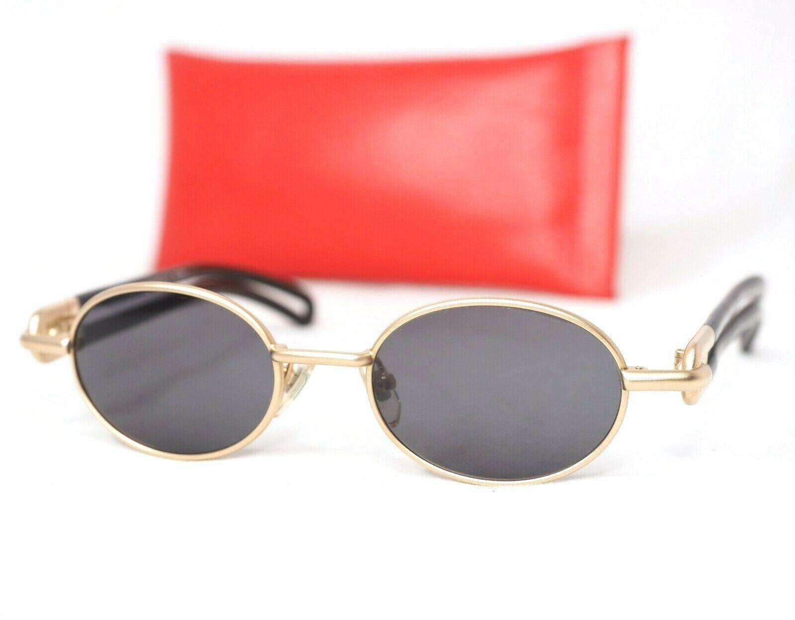 Yohji Yohji Yohji Yamamoto 52-7201 Sonnenbrille Satin Gold Schwarz Vintage Oval Japan Unisex | Günstigstes  | Neueste Technologie  | Hohe Qualität  025682