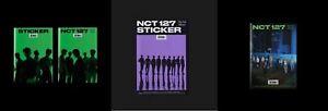 NCT127 [STICKER] STICKER VER(Sticky+Seoul City+Sticker) 3rd Album CD+Poster+Gift