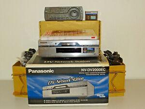 Panasonic-NV-DV2000-High-End-DV-Recorder-OVP-w-NEU-komplett-2-Jahre-Garantie