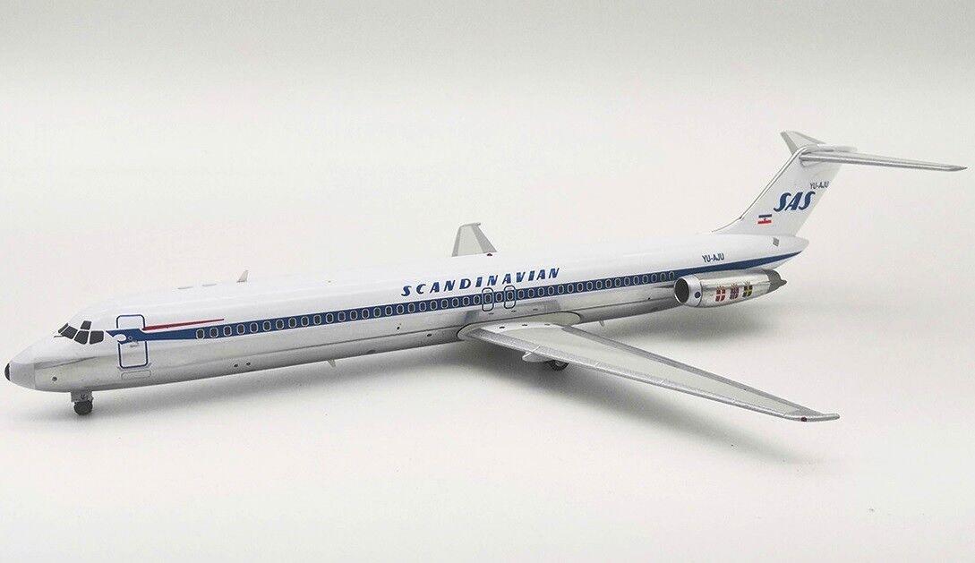 Inflight 200 fertilizantes 951SK0219AP 1 200 Scandinavian Airlines DC-9-51 Yu-Aju con Soporte