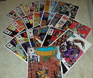 23-Mixed-Valiant-Comics-Comic-Book-Lot-Rai-Ninjak-Secret-Weapons-Armorines