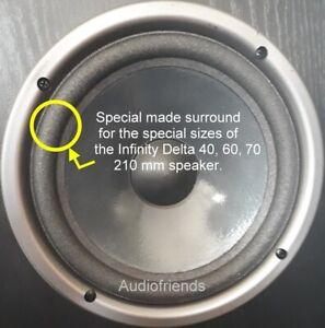 Details zu Reparatursatz Schaumstoff Sicken > Infinity Delta 7 - 7mm  Lautsprecher