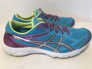 G451N - Asics Gel-Hyper Speed 6 Teal/Purple - Size: Womens 7.5 ...