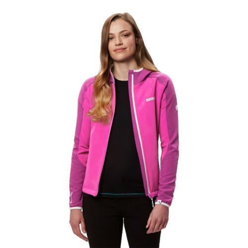 Regatta Damen Arec II Softshell Jacke Sportjacke Top Rosa Sport Outdoor Wandern