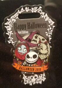 Disney Pin Halloween 2018 Nightmare Before Christmas Jack Sally Halloween Day LE