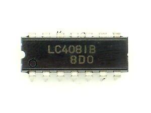 5x CMOS 4081 AND-Gatter 4-fach 2 Eingänge C-MOS IC DIP14