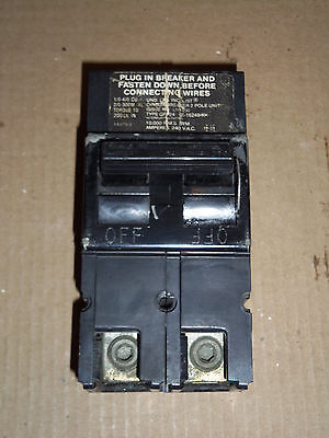 ZINSCO QFP24 2 pole 150 amp 120//240v QFP2150 QFP-2150 Circuit Breaker QFP-24