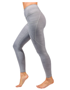 NEW-Active-Life-Women-039-s-Printed-Pocket-Tight-Camo-Grey-Opal-XX-Large-89-Retail