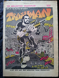 TRASHMAN-Vol-1-1-1969-Spain-Rodriguez-BD-Contre-culture-Underground-Comix-RARE