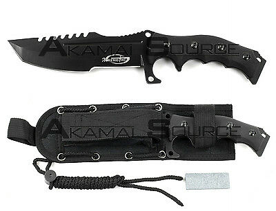 "XTREME TAC 11"" FULL TANG Tactical Survival Knife Fixed Blade Combat XT7984-110GT"