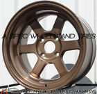( 1 wheel ) 16X9 -15 ROTA GRID-V 4X114.3 SPORT BRONZE wheel FITs 280Z AE86 240SX