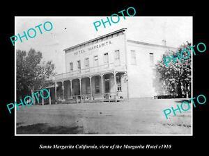 OLD-LARGE-HISTORIC-PHOTO-OF-SANTA-MARGARITA-CALIFORNIA-THE-MARGARITA-HOTEL-1910