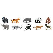 Endangered Species Land Animals Toob Mini Figures Safari Ltd NEW Toys