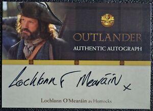 Cryptozoic-Outlander-Season-1-Lochlann-O-039-Mearain-LO-Auto-Autograph-Trading-Card